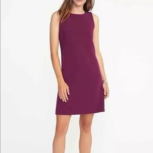 NWT Old Navy Purple Sleeveless Shift Dress